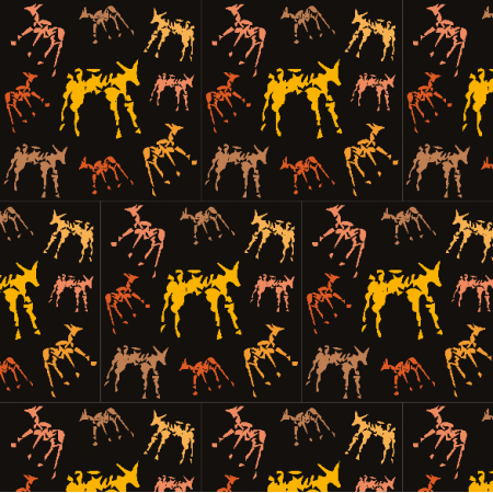Fabric 9673 | ANIMALS 2