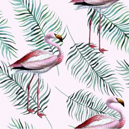 Fabric 9761 | flamingo