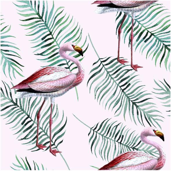 Tkanina 9761 | flamingo