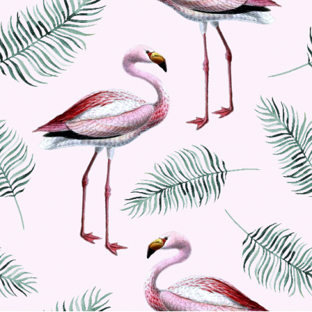 Fabric 9772 | Flamingo