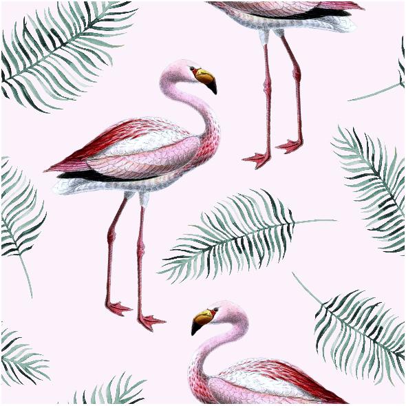 Tkanina 9772 | Flamingo