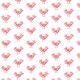 Tkanina 9794 | red bird