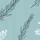 Fabric 9817 | listki miętowe