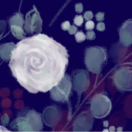 9820 | róże fiolet
