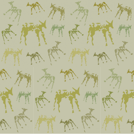 Fabric 9823 | Animals 4