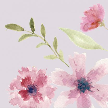 Tkanina 9844 | spring flowers