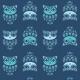 Tkanina 9855 | Sowy I