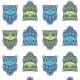 Tkanina 9856 | SOWY II