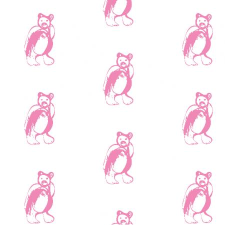 Fabric 9881 | PINK BEAR