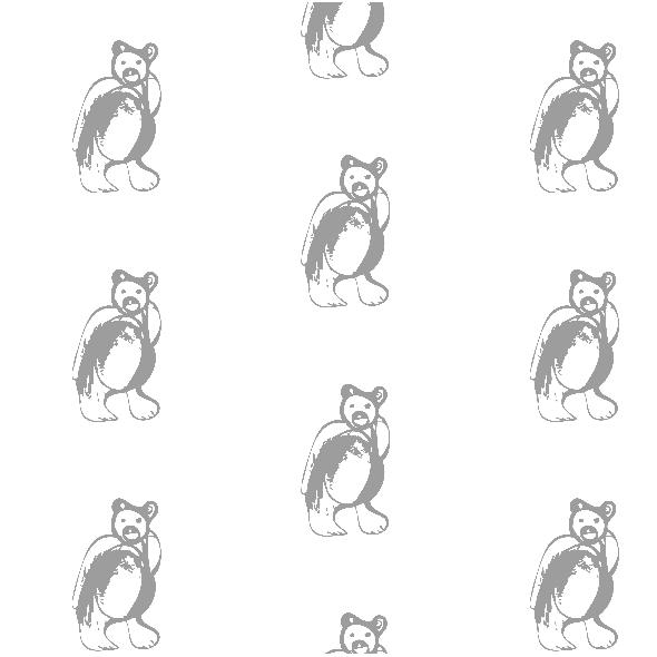 Tkanina 9882 | GREY BEAR
