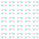 Fabric 9883 | pink and mint birds
