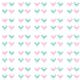 Tkanina 9883 | pink and mint birds