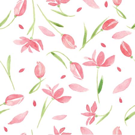 Tkanina 9889 | Tulip dream