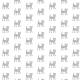 Tkanina 9931 | Happy cat - grey