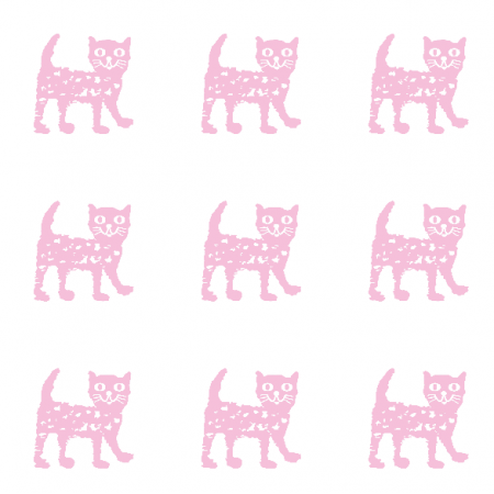 9933 | Happy cat - pink