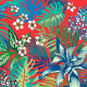 Fabric 9944 | Tropical 9 red