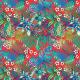 Tkanina 9944 | Tropical 9 red