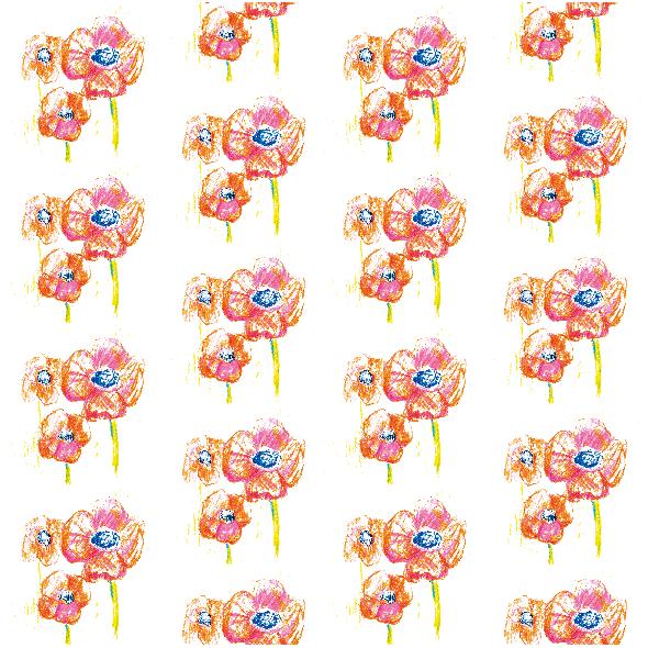 Tkanina 9949 | Flowers 2