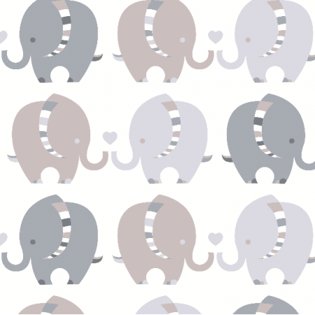 Tkanina 9977 | little elephant
