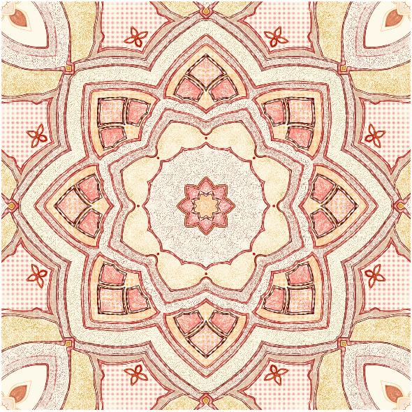 Fabric 10010 | ROZETA NR 2