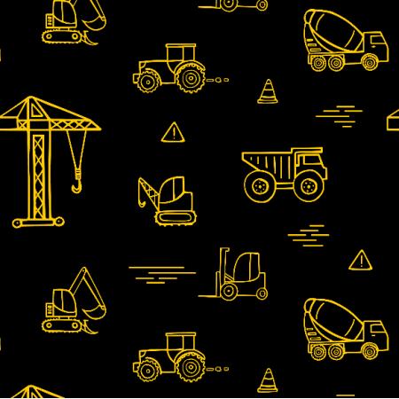 Tkanina 10044 | Building trucks11