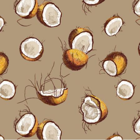 Fabric 10107 | Coconuts 1