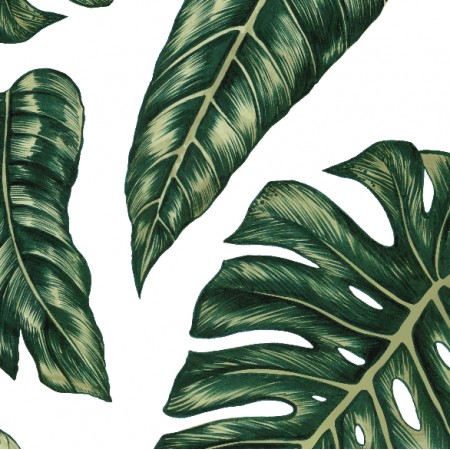 Fabric 10145 | Tropical leaves