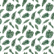 Tkanina 10153 | Tropical leaves 2