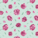 Fabric 10163 | Roses on green