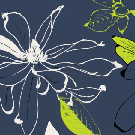 Fabric 10187 | magnolie granat