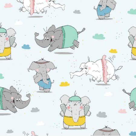 Fabric 10199 | Słoniki
