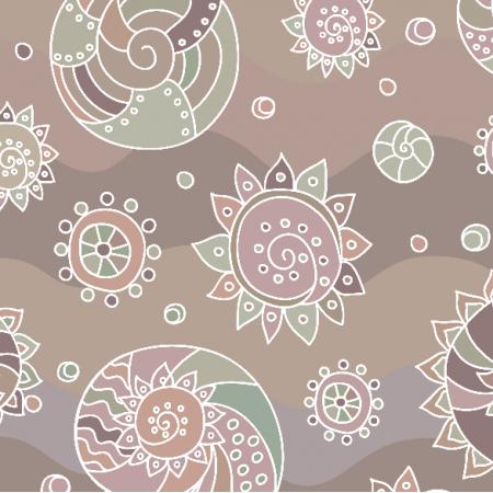 Fabric 10281 | Morski temat - 2