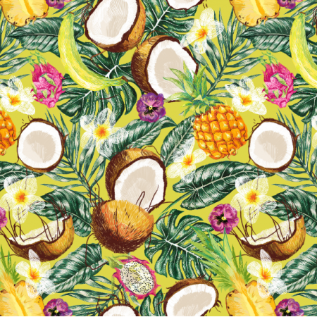 10322 | Tropical fruits green