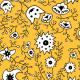 Tkanina 10409 | Ukrainian flower