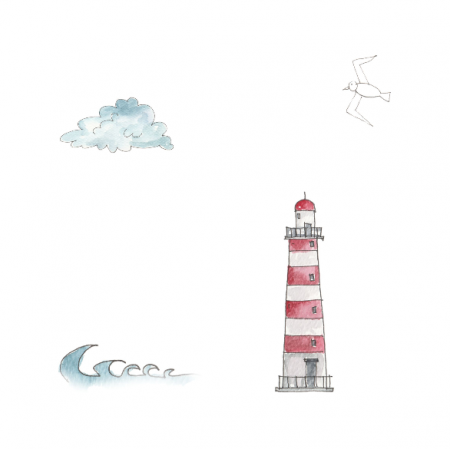 Fabric 10421 | lighthouse