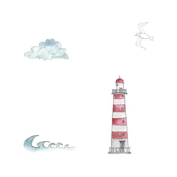 Fabric 10421 | lighthouse