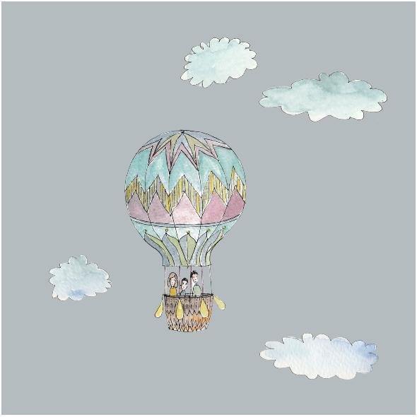 Tkanina 10424 | sky trip