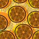 Tkanina 10450 | pomarańcza