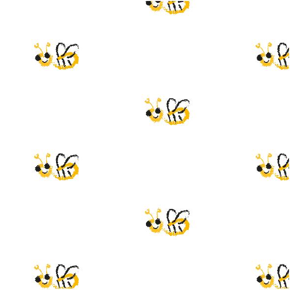 Tkanina 10452 | lITTLE bees