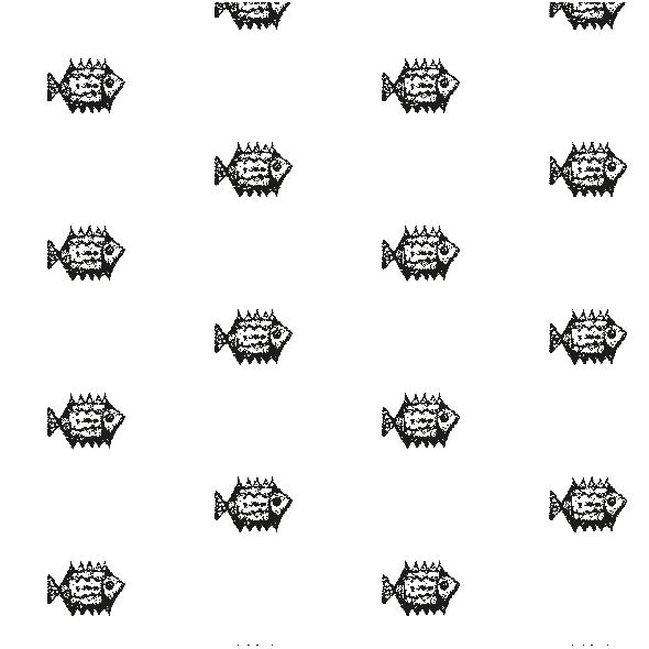 Tkanina 10453 | BLACK FISH