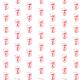 Tkanina 10455 | red mask