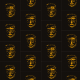 Fabric 10459 | masK ORANGE AND BLACK