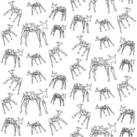 10462 | ANIMALS - BLACK AND WHITE