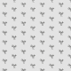 Tkanina 10474 | little bird - BLACK AND grAy