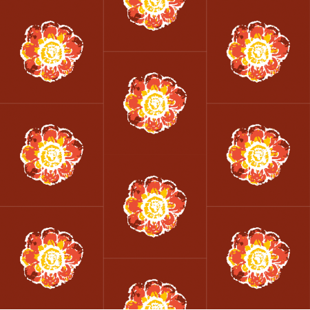 Fabric 10479 | Rustic flower 1