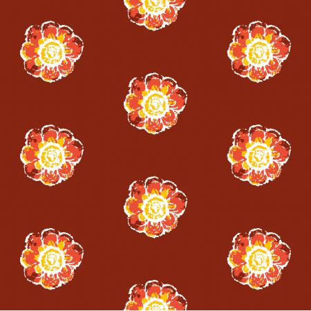 Fabric 10479 | Rustic flower 1