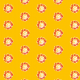 Tkanina 10481 | Rustic flower 3