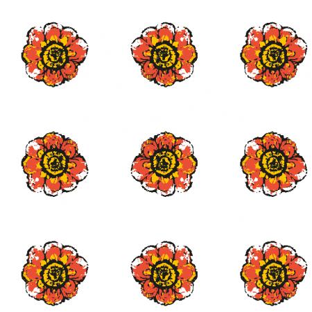 10483 | Rustic flower 4