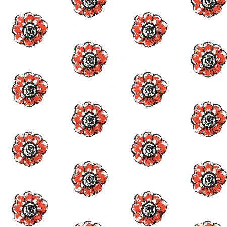 Fabric 10484 | Rustic flower 5