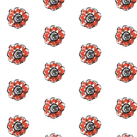 Fabric 10484 | Rustic flower 5